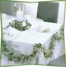 Traumhaft heiraten - Hochzeitstisch dekorieren ...