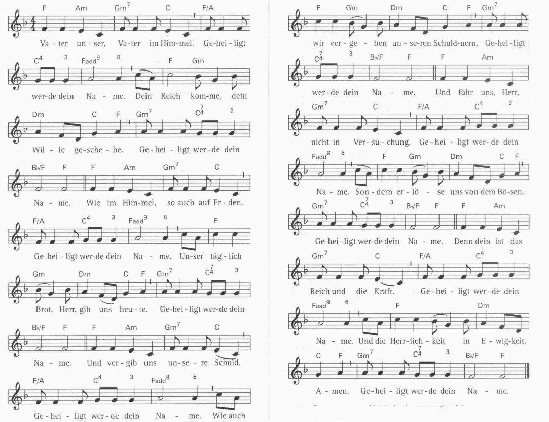 Kirchenlieder aus dem evangelischen gesangsbuch